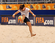Football-FIFA Beachsoccer World Cup 2006-Group D- Italy- Training session in Rio de Janeiro Brazil-31/10/2006.<br /> Mandatory credit: Photocamera/Marco Antonio Rezende.