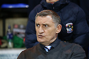 Coventry City Manager Tony Mowbray  during the Sky Bet League 1 match between Peterborough United and Coventry City at London Road, Peterborough, England on 25 March 2016. Photo by Simon Davies.