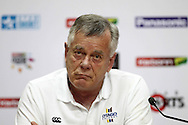 Otago Volts CEO Ross Dykes during the press conference before the Otago Volts Training Session training session prior to the start of the Karbonn Smart CLT20 2013 held at the PCA Stadium in Mohali on the 16th September 2013<br /> <br /> Photo by Shaun Roy-CLT20-SPORTZPICS <br /> <br /> Use of this image is subject to the terms and conditions as outlined by the BCCI. These terms can be found by following this link:<br /> <br /> http://www.sportzpics.co.za/image/I0000SoRagM2cIEc