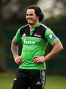 Zac Guildford during Crusaders Training, Super Rugby, Rugby Union. Held at Rugby Park, Christchruch. Wednesday 25 January 2012. Joseph Johnson/photosport.co.nz