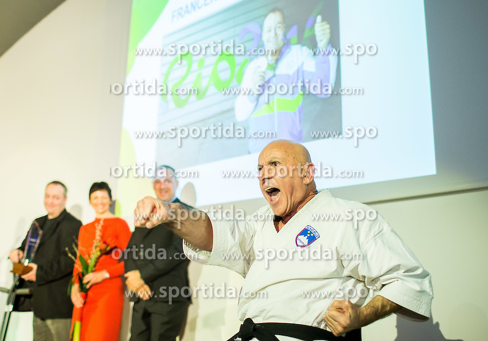 Skender Tosic performs during Slovenian Disabled Sports personality of the year 2016 event, on December 15, 2016 in Austria Trend Hotel, Ljubljana, Slovenia. Photo by Vid Ponikvar / Sportida