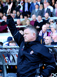 Sheffield United manager Chris Wilder - Mandatory by-line: Robbie Stephenson/JMP - 08/04/2017 - FOOTBALL - Sixfields Stadium - Northampton, England - Northampton Town v Sheffield United - Sky Bet League One
