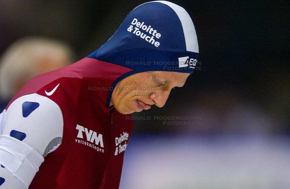 04-01-2003 NED: Europees Kampioenschappen Allround, Heerenveen<br /> 1500 m / Rintje Ritsma