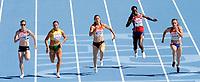 ATHLETICS - 20TH EUROPEAN ATHLETICS CHAMPIONSHIPS 2010 - BARCELONA (ESP) - 16/07 to 01/08/2010 - 28/07/10 - PHOTO : JULIEN CROSNIER / DPPI - 100M WOMEN - FOLAKE AKINYEMI (NOR)