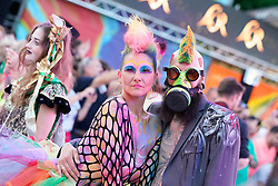 08.06.2019, Rathaus, Wien, AUT, Life Ball im Bild kostuemierte Gaeste // during the Life Ball at the Rathaus in Wien, Austria on 2019/06/08. EXPA Pictures © 2019, PhotoCredit: EXPA/ Florian Schroetter