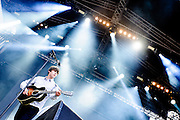 Jake Bugg performing live at the Rock A Field Festival in Luxembourg, Europe on June 30, 2013