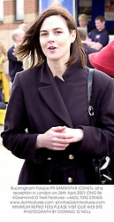 Buckingham Palace PR SAMANTHA COHEN, at a reception in London on 26th April 2001.	ONG 56