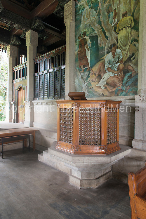 Trinity College Chapel. Kandy