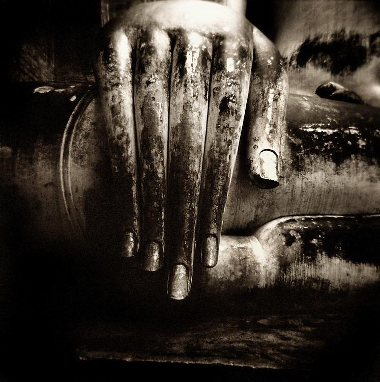 Hand of Buddha - Wat Si Chum - Sukothai, Thailand