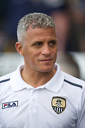 NOTTINGHAM, ENGLAND - Saturday, October 6, 2012: Notts County's Keith Curle before the Football League One match against Tranmere Rovers at Meadow Lane. (Pic by David Rawcliffe/Propaganda)