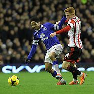 Everton v Sunderland 261213