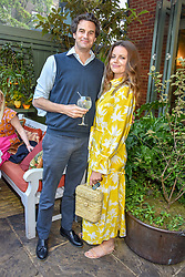 Rupert Finch and Lady Natasha Rufus-Isaacs at The Ivy Chelsea Garden Summer Party ,The Ivy Chelsea Garden, King's Road, London, England. 14 May 2019. <br /> <br /> ***For fees please contact us prior to publication***