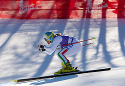 13.01.2012, Pista Olympia delle Tofane, Cortina, ITA, FIS Weltcup Ski Alpin, Damen, Abfahrt, 2. Training, im Bild Verena Stuffer (ITA) // Verena Stuffer of Italy during ladies downhill 2nd training of FIS Ski Alpine World Cup at 'Pista Olympia delle Tofane' course in Cortina, Italy on 2012/01/13. EXPA Pictures © 2012, PhotoCredit: EXPA/ Johann Groder