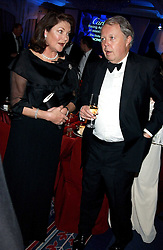 ANTOINETTE OPPENHEIMER and EARL DE LA WARR at the Cartier Racing Awards held at the Four Seasons Hotel, Hamilton Place, London W1 on 16th November 2005.<br />