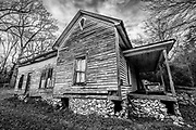 An old abandoned house near the High Rock Dam in Denton NC.
