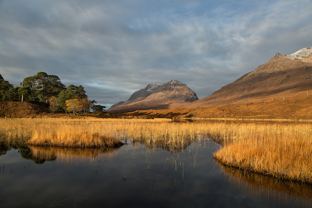Loch Clair in the Torridon area, Scotland