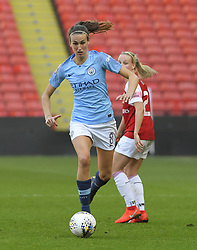 February 23, 2019 - Sheffield, England, United Kingdom - Jill Scott (Manchester City) during the  FA Women's Continental League Cup Final  between Arsenal and Manchester City Women at the Bramall Lane Football Ground, Sheffield United FC Sheffield, Saturday 23rd February. (Credit Image: © Action Foto Sport/NurPhoto via ZUMA Press)