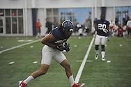 Ole Miss' Cody Prewitt (25) at football practice at the Manning Center, in Oxford, Miss. on Monday, August 18, 2014.