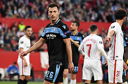 February 20, 2019 - Seville, Spain - Soccer player Stefan Rudo during the Europa League round of 32 second leg soccer match between Sevilla and Lazio at the Sanchez Pizjuan stadium, in Seville, Spain on February 20, 2019. (Credit Image: © Gtres/NurPhoto via ZUMA Press)