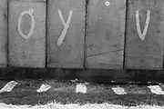 Graffiti on the long drops, Glastonbury, Somerset, 1989