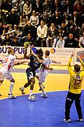 DESCRIZIONE : Handball coupe des coupes 1/4 finale Tremblay Halmstad <br /> GIOCATORE : Poulin Teddy<br /> SQUADRA : Tremblay <br /> EVENTO : Coupe d'europe A 2010-2011<br /> GARA : Tremblay Halmstad<br /> DATA : 03/04/2011<br /> CATEGORIA : Handball Coupe d'europe<br /> SPORT : Handball<br /> AUTORE : JF Molliere par Agenzia Ciamillo-Castoria <br /> Galleria : France Hand 2010-2011 Action<br /> Fotonotizia : coupe des coupe 1/4 finale Tremblay Halmstad <br />   Match retour a Tremblay