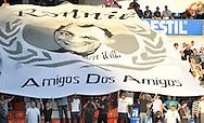 22-08-2009 Voetbal:Willem II:Heracles Almelo:Tilburg<br /> Ter nagedachtenis aan een echte Willem II supporter Ronnie<br /> Foto: Geert van Erven