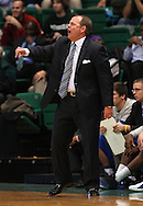 Dec 07, 2011; Birmingham, AL, USA;  Middle Tennessee head coach Kermit Davis reacts to his teams play against the UAB Blazers at Bartow Arena. The Blazers defeated the Blue Raiders 66-56  Mandatory Credit: Marvin Gentry-