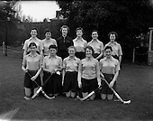 1958 - Hockey: Ladies, Irish Universities v Scottish Universities, Dartry
