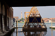 "Venice, Italy - 15th Architecture Biennale 2016, ""Reporting from the Front"".<br /> Arsenale.<br /> NLÉ"