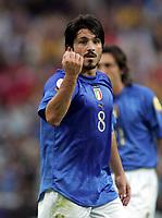 Fotball<br /> Euro 2004<br /> 18.06.2004<br /> Sverige v Italia 1-1<br /> Foto: Omega/SBI/Digitalsport<br /> NORWAY ONLY<br /> <br /> GENNARO GATTUSO