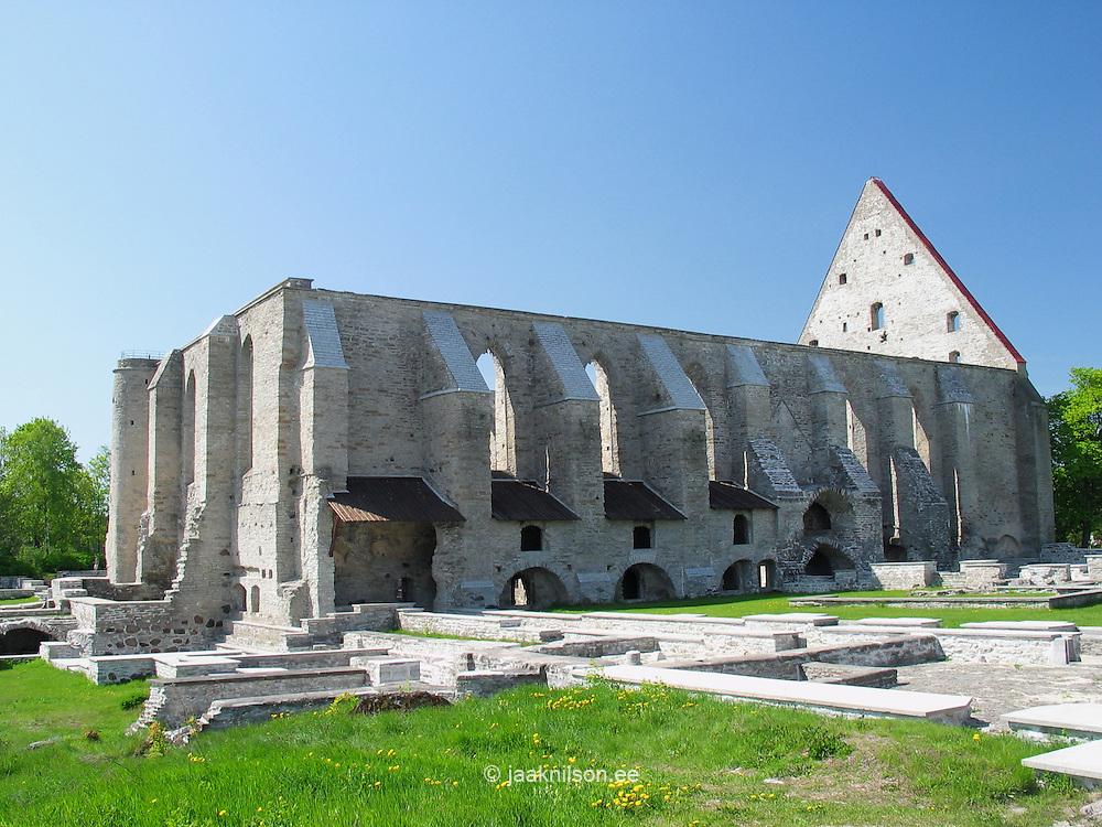 Pirita Cloister-Convent in Tallinn, Estonia