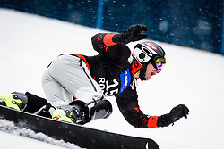 Jasey Jay Anderson (CAN) competes during Qualification Run of Men's Parallel Giant Slalom at FIS Snowboard World Cup Rogla 2016, on January 23, 2016 in Course Jasa, Rogla, Slovenia. Photo by Ziga Zupan / Sportida