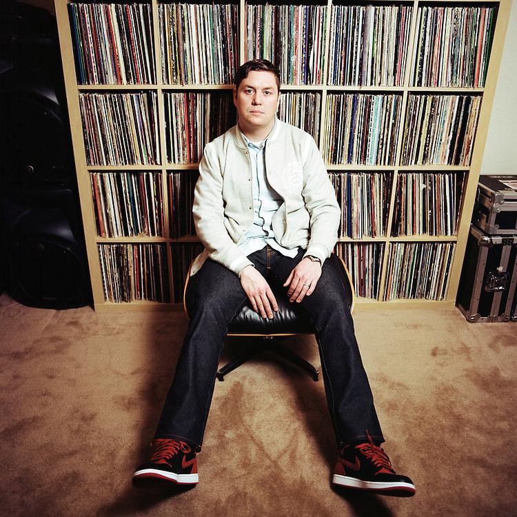 ANCHORAGE, ALASKA - 2013: DJ Spencer Lee.