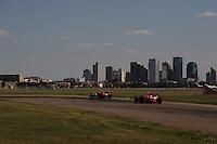 Ryan Briscoe, Helio Castroneves, Rexall Edmonton Indy, Edmonton Alberta, Canada, Indy Car Series