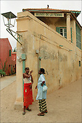 Senegalese Girls at the Womens Museum  - Podor Senegal