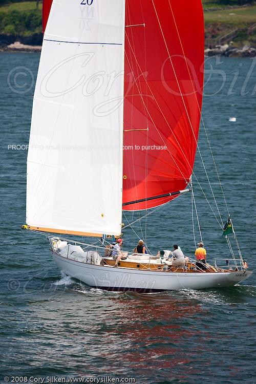 Siren, NY 32, racing at the New York Yacht Club Race Week.