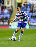 Matěj Vydra on the ball during the Sky Bet Championship match between Reading and Derby County at the Madejski Stadium, Reading, England on 15 September 2015. Photo by David Charbit.