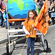 Mothers rise up host a Mothers Climate March 2019 assembly at Hype park, on 12 May 2019, at Hype Park, London, UK