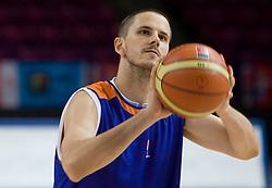 Bostjan Nachbar  at practice of Slovenian National Basketball team in Arena Torwar two days before the beginning of the Eurobasket 2009, on September 05, 2009 in Warsaw, Poland. (Photo by Vid Ponikvar / Sportida)