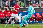 ALKMAAR - 22-04-2017, AZ - FC Twente, AFAS Stadion, AZ speler Wout Weghorst