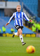Sheffield Wednesday Midfielder Barry Bannan during the Sky Bet Championship match between Sheffield Wednesday and Leeds United at Hillsborough, Sheffield, England on 16 January 2016. Photo by Adam Rivers.