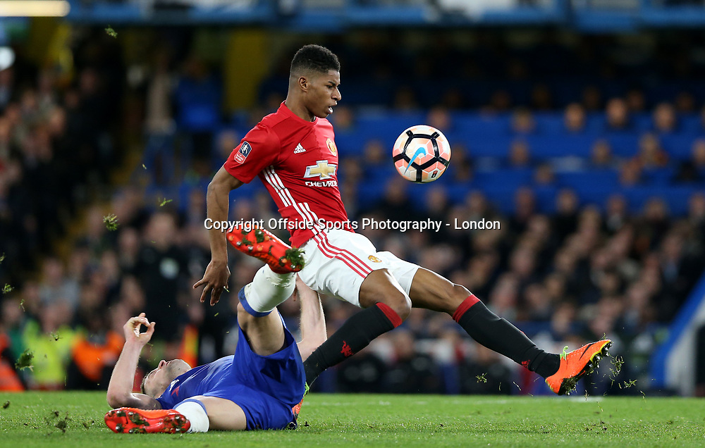 13 March 2017 London : FA Cup 6th Round : Chelsea v Manchester United :<br />