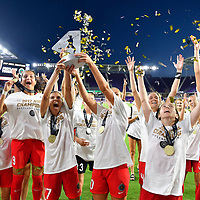 The Portland Thorns , the NWSL Champions in 2017