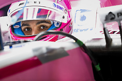 October 19, 2018 - Austin, Texas, U.S. - ESTEBAN OCON (fra), Racing Point Force India F1 VJM11, portrait during the 2018 Formula One World Championship, United States of America Grand Prix from october 18 to 21 in Austin. (Credit Image: © Hoch Zwei via ZUMA Wire)