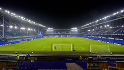 LIVERPOOL, ENGLAND - Monday, December 18, 2017: A general view of Goodison Park before the FA Premier League match between Everton and Swansea City at Goodison Park. (Pic by David Rawcliffe/Propaganda)