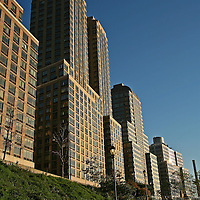 140, 160 and 180 Riverside, Trump Place, NYC.