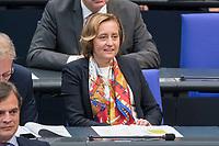 08 NOV 2018, BERLIN/GERMANY:<br /> Beatrix von Storch, MdB, AfD, Bundestagsdebatte zum Gesetzentwurf der Bundesregierung ueber Leistungsverbesserungen und Stabilisierung in der gesetzlichen Rentenversicherung, Plenum, Deutscher Bundestag<br /> IMAGE: 20181108-01-022<br /> KEYWORDS: Sitzung