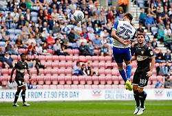 Wigan Athletic's Nick Powell scores his sides second goal - Mandatory by-line: Matt McNulty/JMP - 13/08/2017 - FOOTBALL - DW Stadium - Wigan, England - Wigan Athletic v Bury - Sky Bet League One