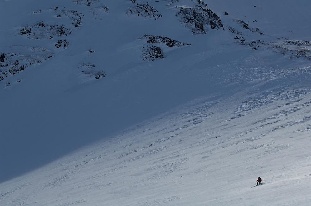 Skiing ecotourists, Sylarna, Jamtland, Sweden