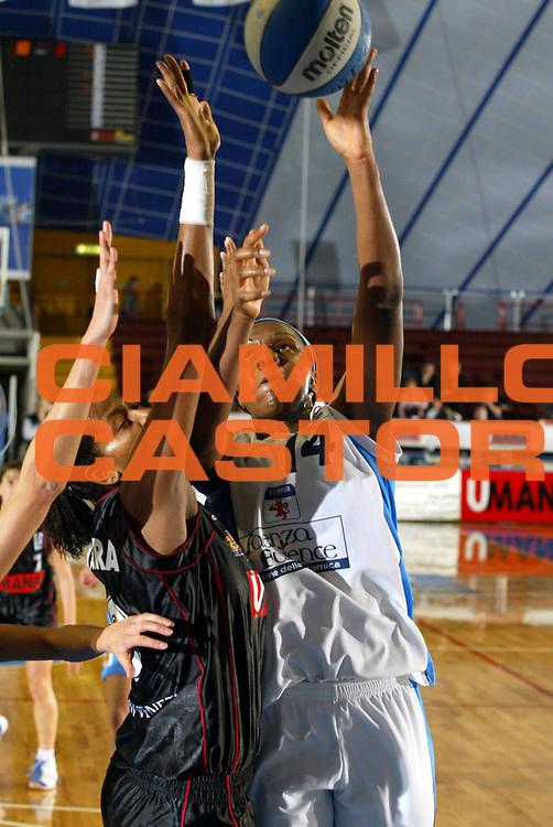 DESCRIZIONE : VENEZIA FINAL FOUR FIBA CUP 2004-2005<br />GIOCATORE : COELHO<br />SQUADRA : FAIENCE FAENZA<br />EVENTO : FINAL FOUR FIBA CUP 2004-2005<br />GARA : UMANA REYER VENEZIA-FAIENCE FAENZA<br />DATA : 09/02/2005<br />CATEGORIA : Tiro<br />SPORT : Pallacanestro<br />AUTORE : Agenzia Ciamillo-Castoria